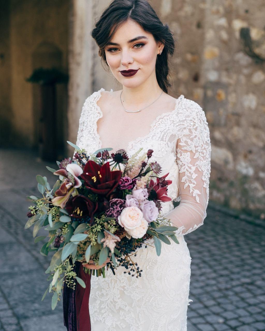 Свадебные букеты для самых красивых невест: модные тенденции 2019 | 12
