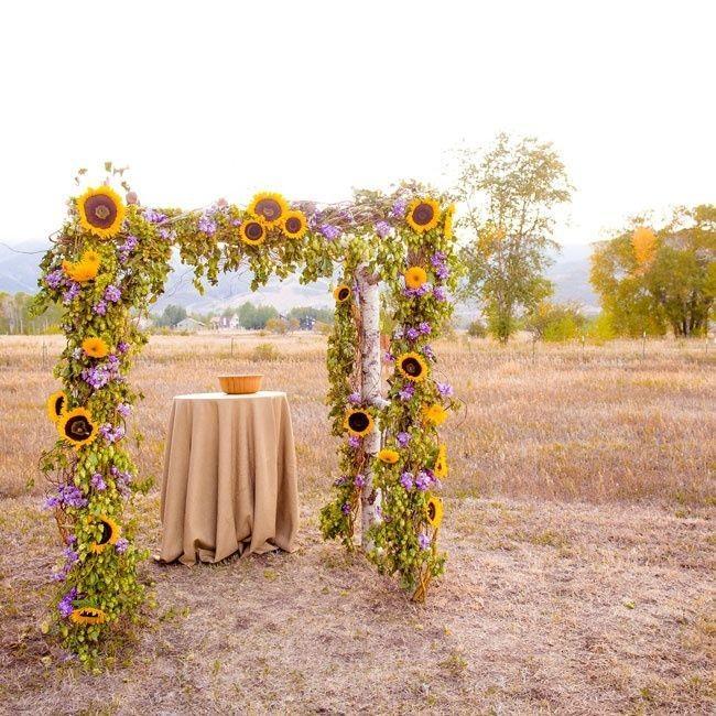 Свадебный декор из подсолнуха для самой солнечной свадьбы - image12