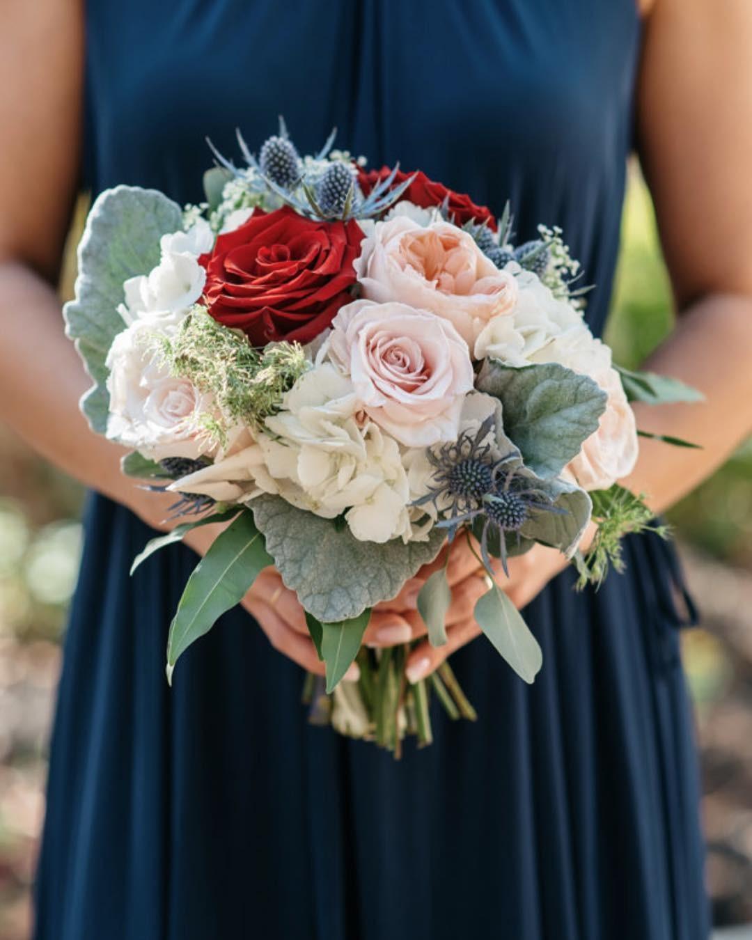 Свадебные букеты для самых красивых невест: модные тенденции 2019 | 14