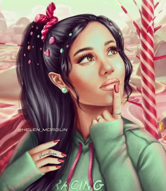 Украинская художница представила знаменитостей в роли диснеевских принцесс - image14