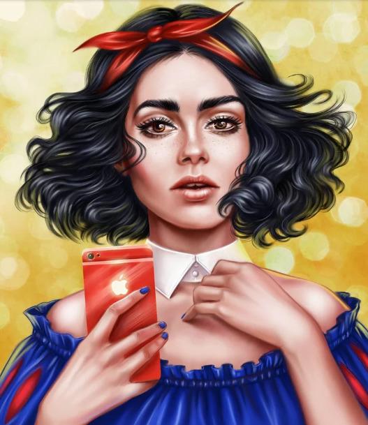 Украинская художница представила знаменитостей в роли диснеевских принцесс - image16