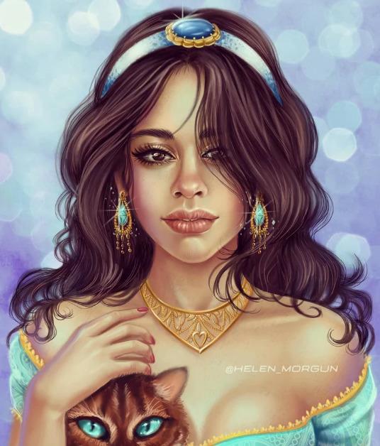 Украинская художница представила знаменитостей в роли диснеевских принцесс - image2