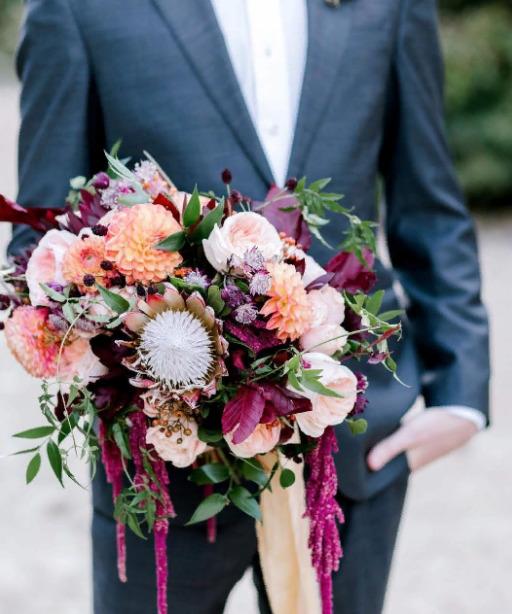 Свадебные букеты для самых красивых невест: модные тенденции 2019 | 2