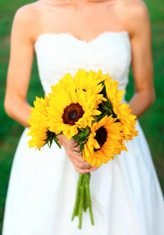 Свадебный декор из подсолнуха для самой солнечной свадьбы - image2