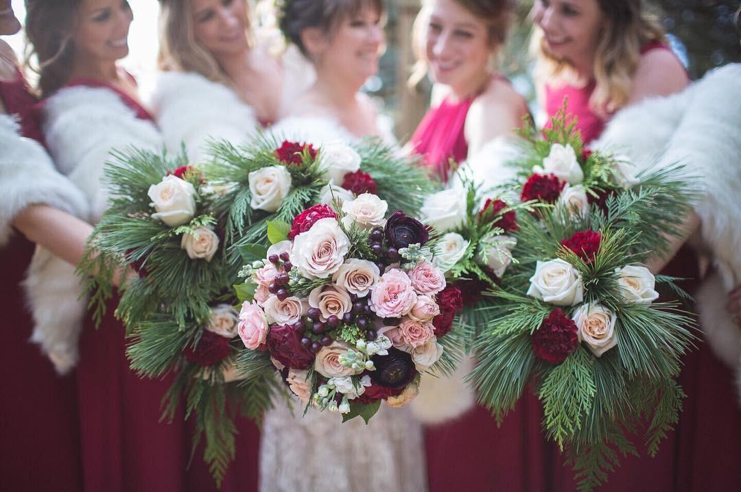 Свадебные букеты для самых красивых невест: модные тенденции 2019 | 24