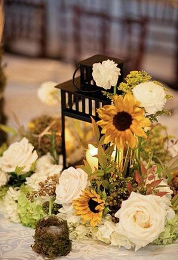 Свадебный декор из подсолнуха для самой солнечной свадьбы - image24