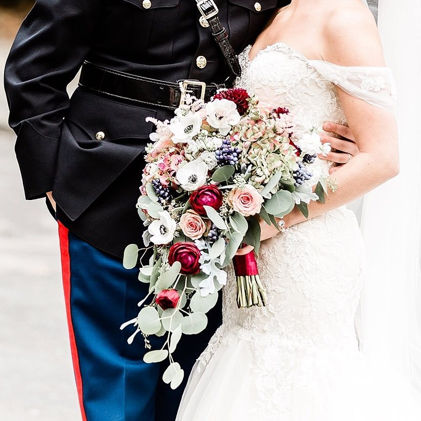 Свадебные букеты для самых красивых невест: модные тенденции 2019 | 28