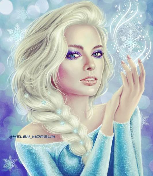 Украинская художница представила знаменитостей в роли диснеевских принцесс - image3