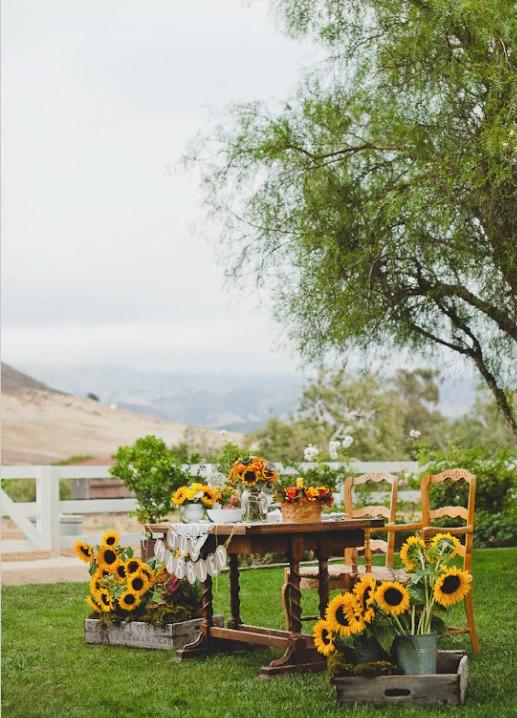 Свадебный декор из подсолнуха для самой солнечной свадьбы - image3