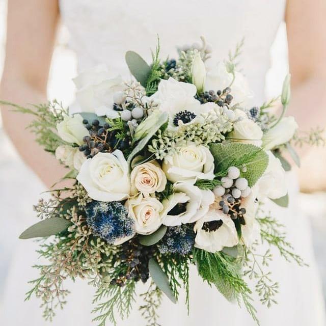 Свадебные букеты для самых красивых невест: модные тенденции 2019 | 31