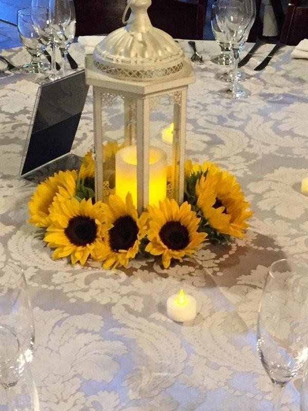 Свадебный декор из подсолнуха для самой солнечной свадьбы - image31