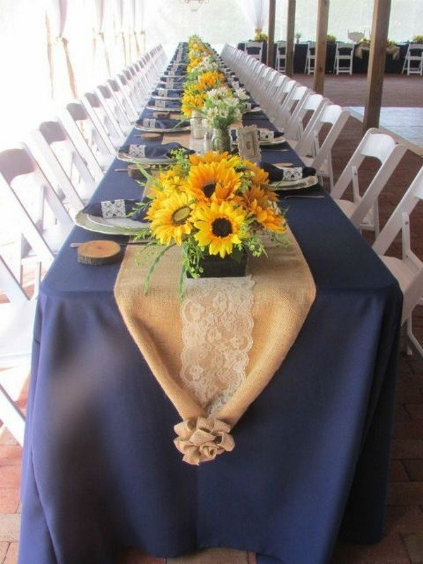 Свадебный декор из подсолнуха для самой солнечной свадьбы - image32