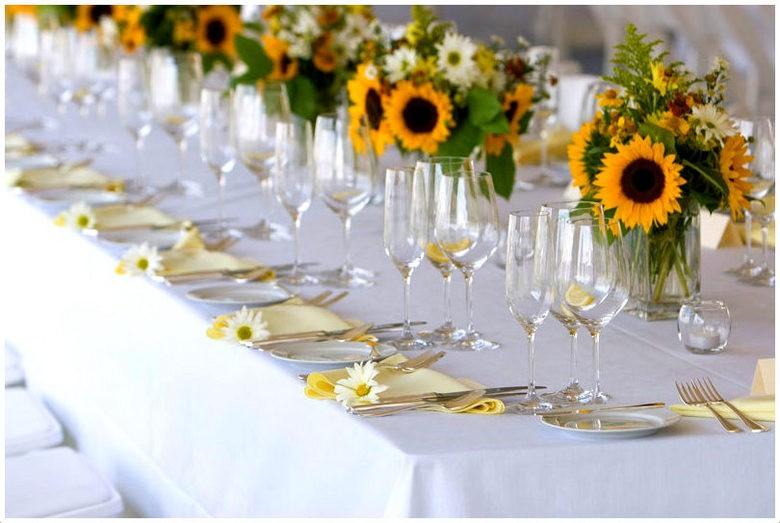 Свадебный декор из подсолнуха для самой солнечной свадьбы - image33