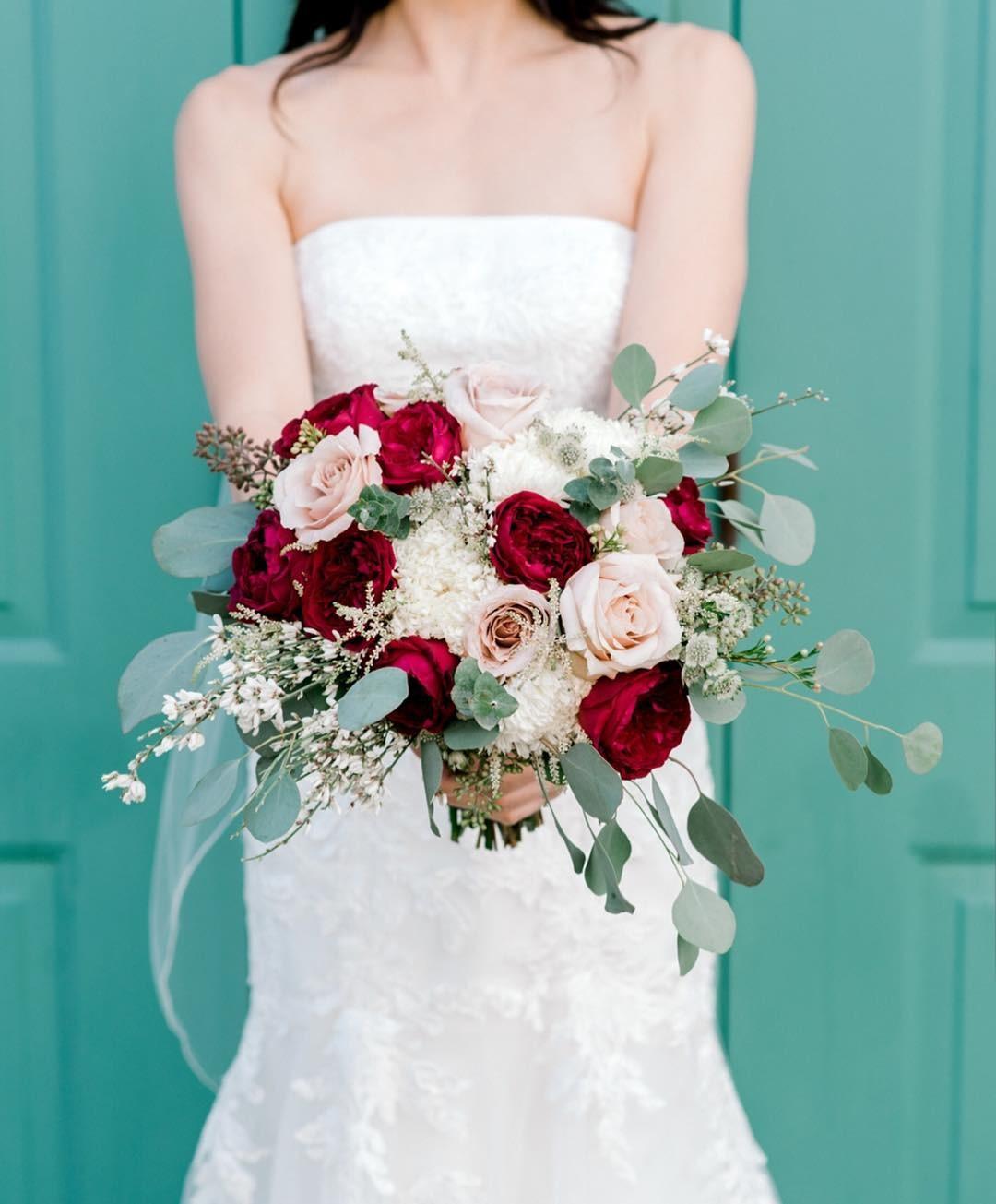 Свадебные букеты для самых красивых невест: модные тенденции 2019 | 37