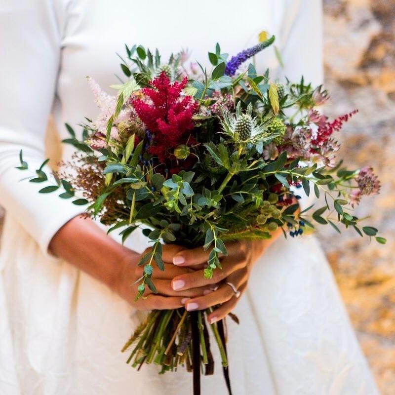 Свадебные букеты для самых красивых невест: модные тенденции 2019 | 4