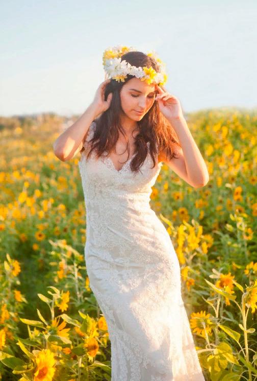 Свадебный декор из подсолнуха для самой солнечной свадьбы - image4