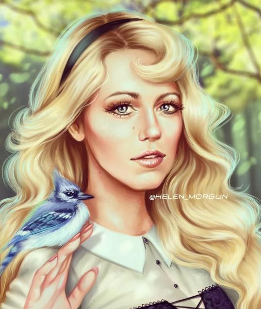 Украинская художница представила знаменитостей в роли диснеевских принцесс - image5