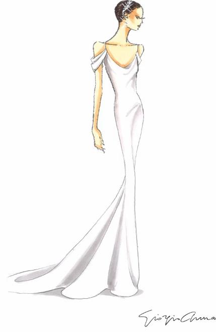 Кэтрин Шварценеггер сменила 2 свадебных платья от Армани за время торжества - image5