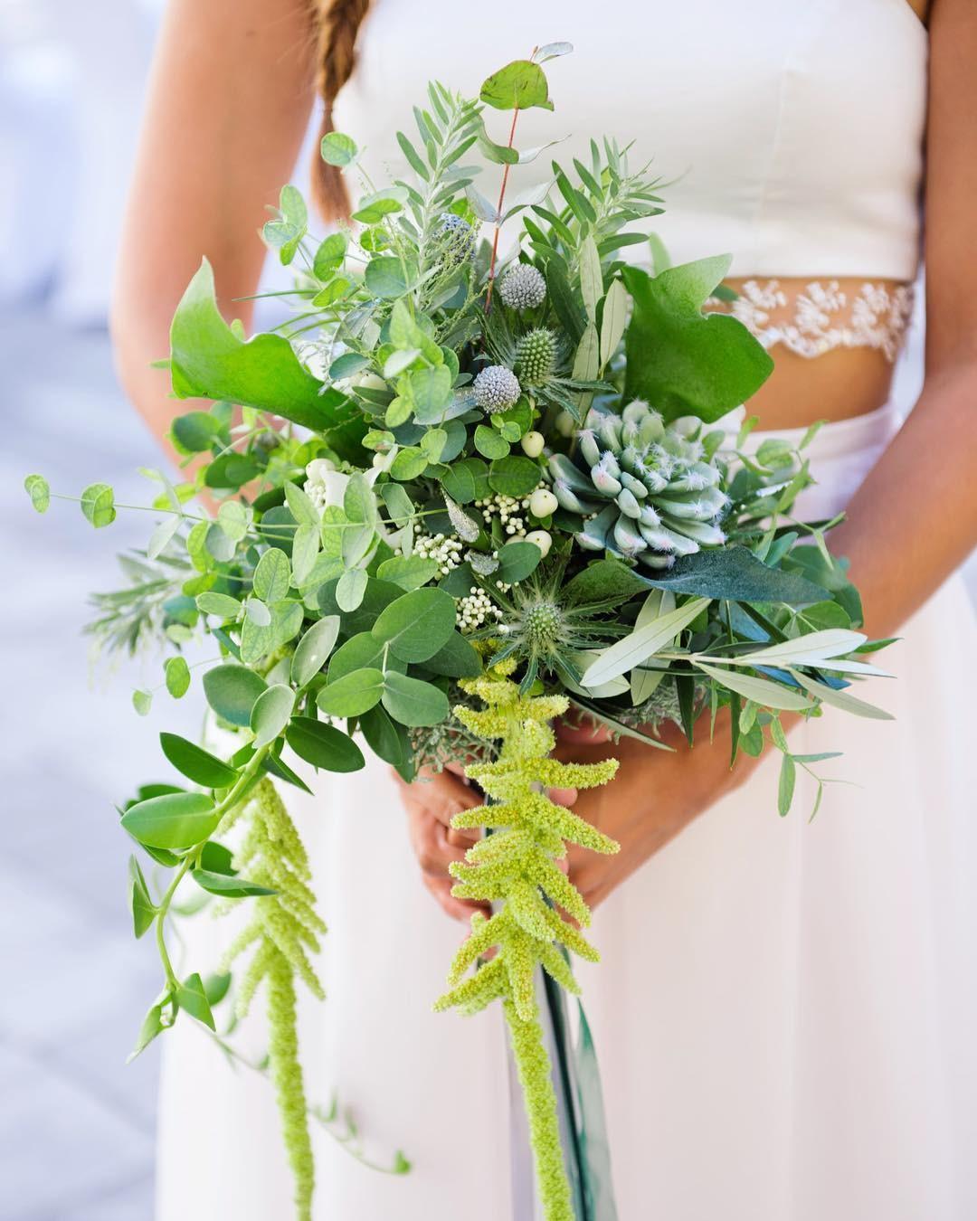 Свадебные букеты для самых красивых невест: модные тенденции 2019 | 6