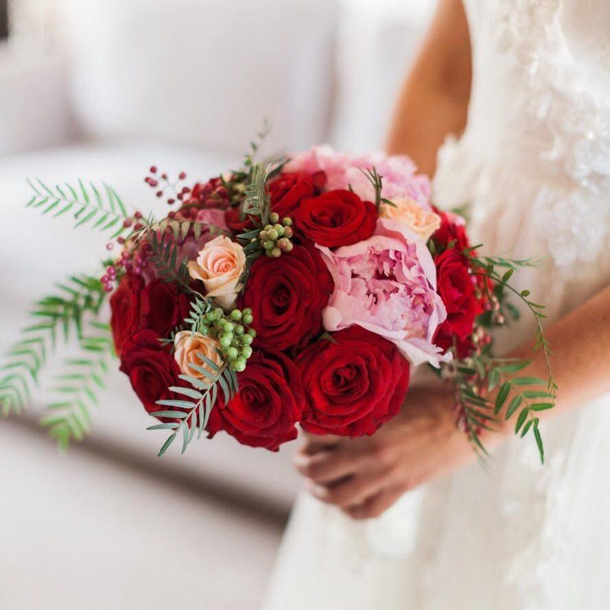 Свадебные букеты для самых красивых невест: модные тенденции 2019 | 7