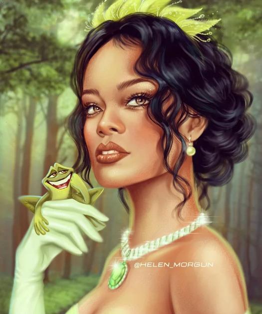Украинская художница представила знаменитостей в роли диснеевских принцесс - image9