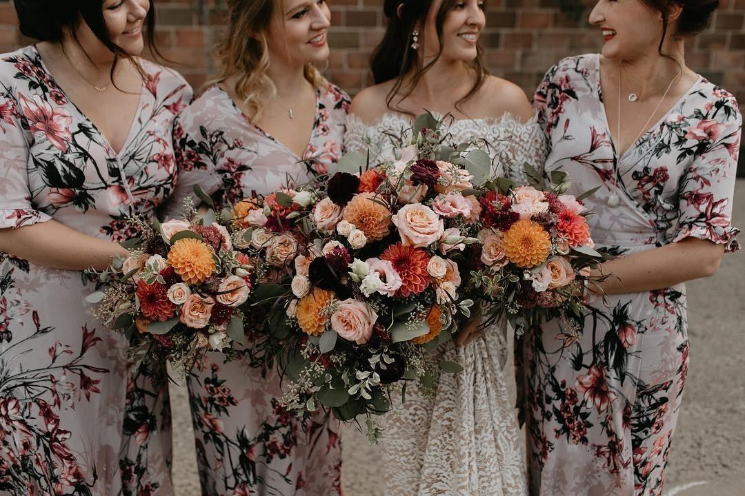 Свадебные букеты для самых красивых невест: модные тенденции 2019 | 9