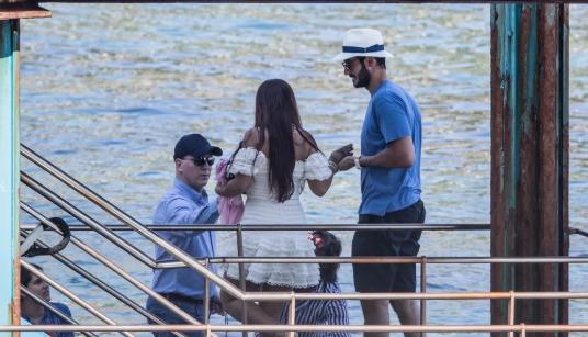 Рианна и Хассан Джамиль, её бойфренд, наслаждаются отдыхом в Италии | 9