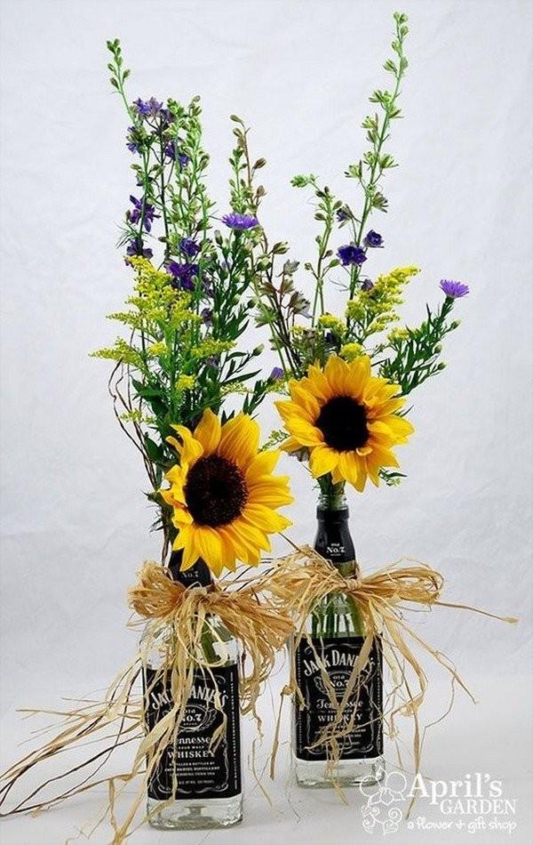 Свадебный декор из подсолнуха для самой солнечной свадьбы - image9