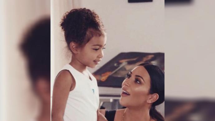 Ким Кардашьян трогательно поздравила дочку Норт с ее днем Рождения