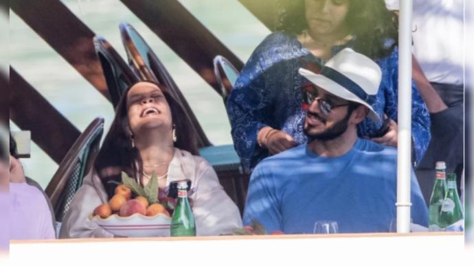Рианна и Хассан Джамиль, её бойфренд, наслаждаются отдыхом в Италии