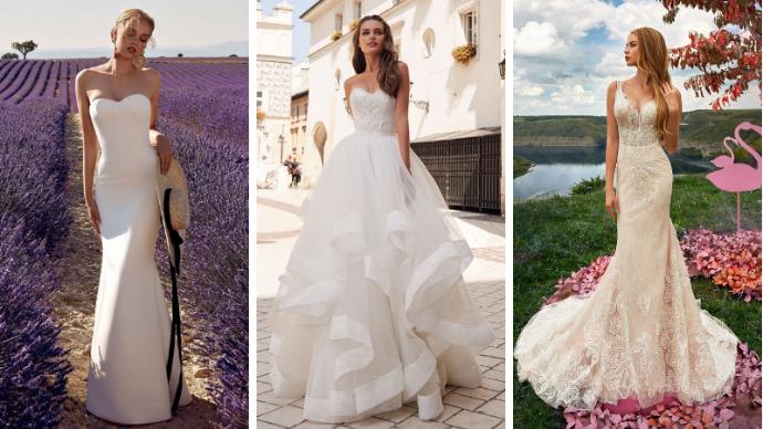 Свадебные платья 2019, для самых счастливых невест