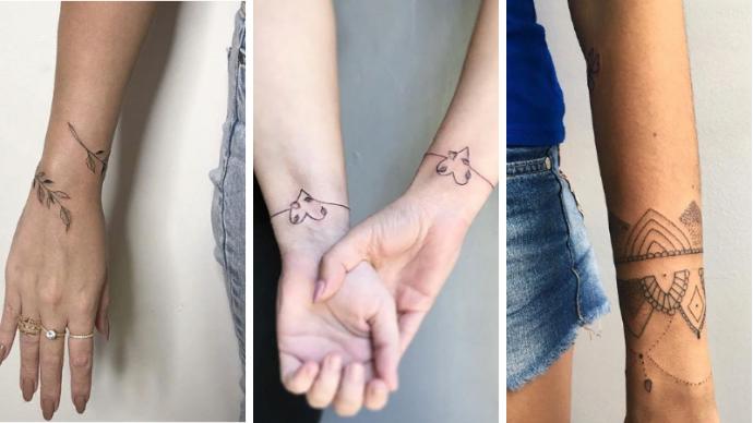 Татуировка-браслет — новый модный тренд, который заменит вам любимый аксессуар