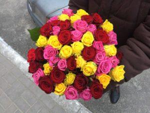 Торжественная доставка цветов для деловых партнеров | 1