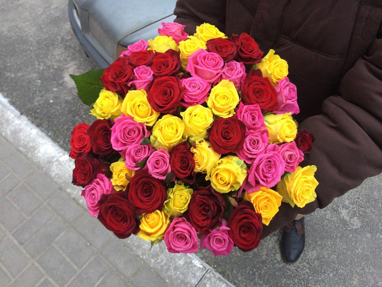 Торжественная доставка цветов для деловых партнеров | 12