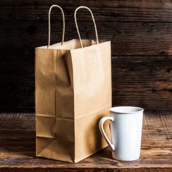 Крафт пакеты с логотипом - движок вашего бизнеса | 2