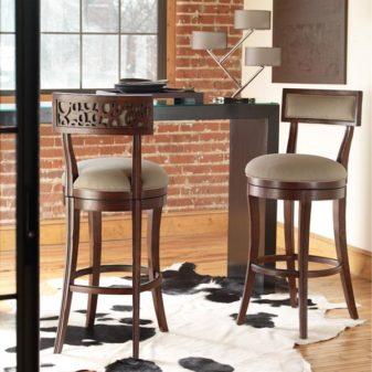 Барная стойка и барные стулья - современное оформление интерьера | 1
